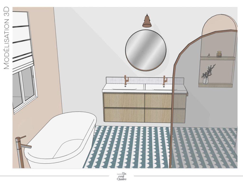 Modélisation 3D | Maison 604 - Agence de conseil en décoration d'intérieur et design d'espace dans la région de Nancy et Paris.